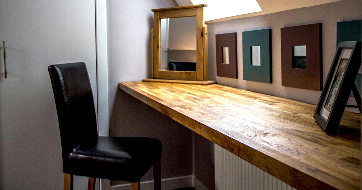 Skye apartments, Home Farm, Portree, dressing-table